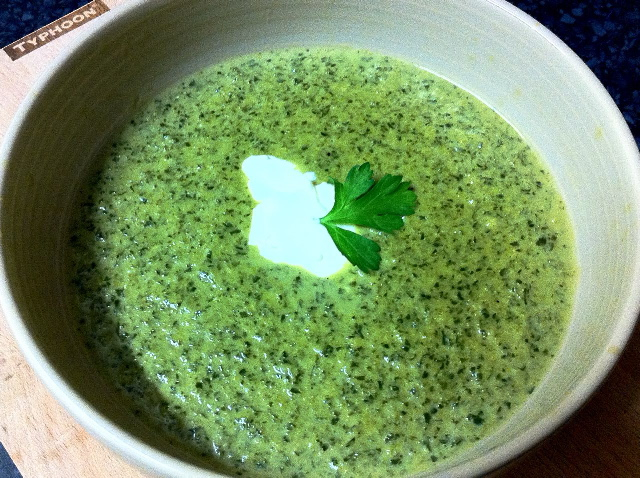 Kale & Stilton Soup