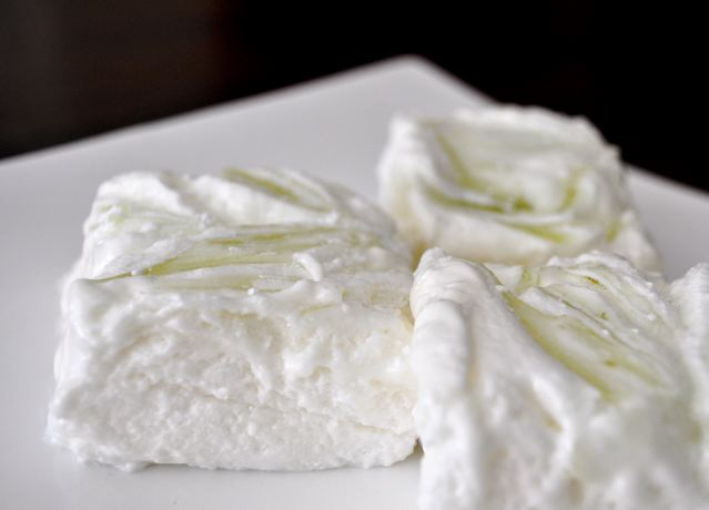 Pernod Marshmallow with Lime Swirl