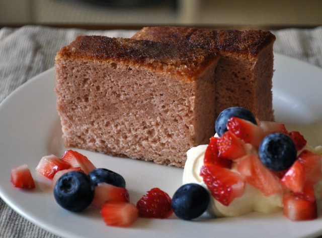 Strawberry Castella (Kasutera)