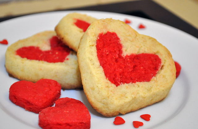 Heart Love Cookies
