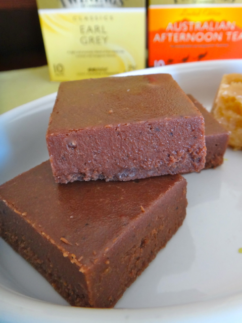 Tea Fudge Two Ways