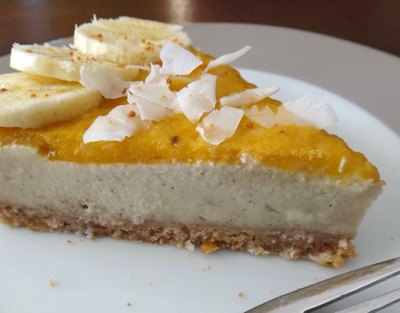 Raw Tropical Cheesecake