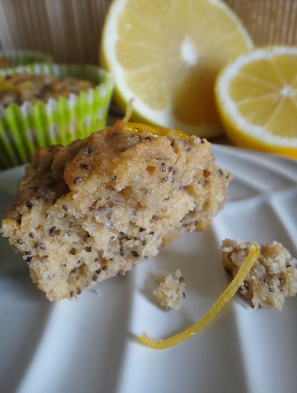 Grapefruit, Lemon & Chia Cakes