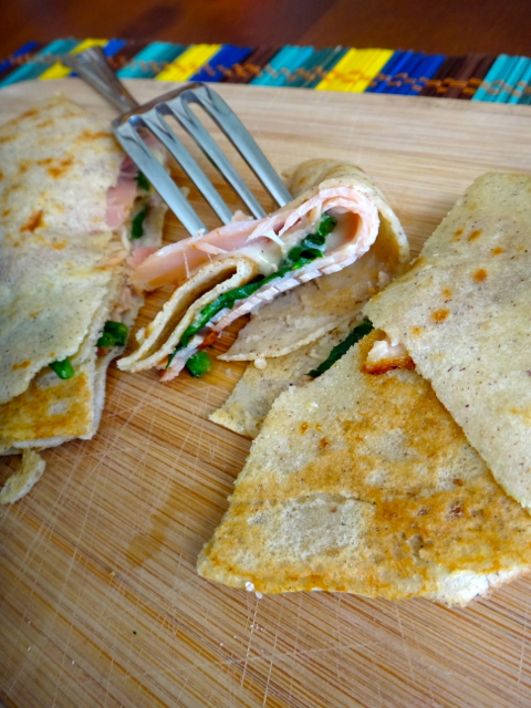 Buckwheat and Quinoa Crepes