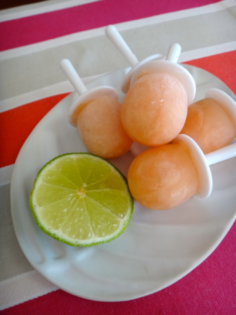 Pink Grapefruit, Lime & Gin Pops