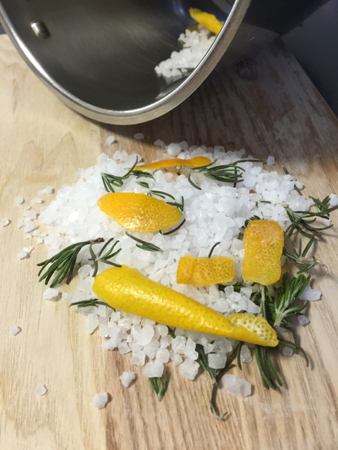 Rosemary Citrus Salt