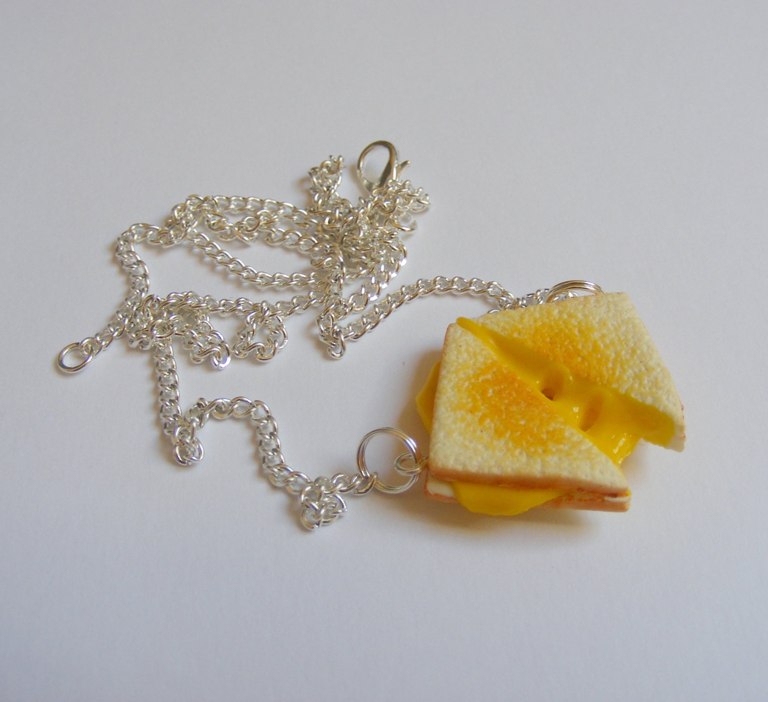 Grilled Cheese Pendant