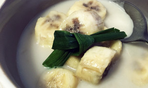 Bananas Cooked in Coconut Cream
